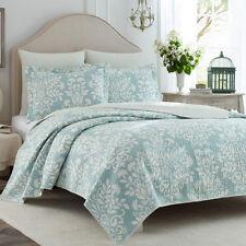Emboss 100%Cotton Coverlet / Bedspread Set King & Super King Size Bed 230x270cm