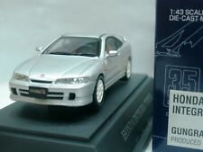 WOW EXTREMELY RARE Honda Integra R DC2 RHD Coupe 1998 Silver 1:43 Ebbro-DISM