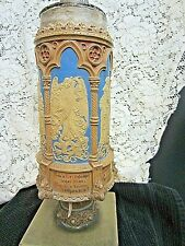 Rare Antique Mettlach Pokal #396 ( Ceremonial Drinking Vessel ) Molded In Relie