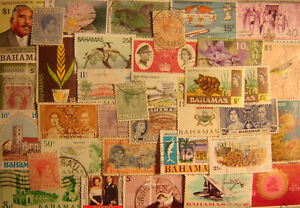 Bahamas 90 Different Used
