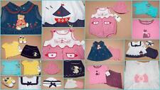 NWT BABY GIRLS SIZE 6-9M LOT OF 7 SETS + ACCESSORIES SPRING SUMMER NEW 6M 9M