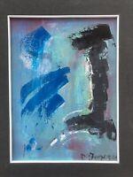 """SALVATORE D'IMPERIO - Olio su tela - """"Don Chixote"""" - 1988 - 40x30"""