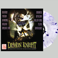 Demon Knight Soundtrack Vinyl PURPLE/CLEAR LP Limited to 300 Sepultura Ministry
