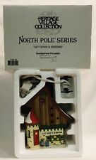 "Department 56 Heritage Village ""Gift Wrap & Ribbons"" 56390 Mint!"