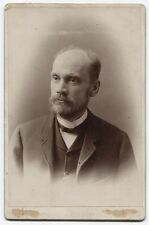 CABINET CARD PHOTO HERMANN EDUARD VON HOLST, HISTORIAN. 1841-1904