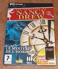 Les enquêtes de Nancy Drew - le mystère de l'horloge Jeu PC Neuf sous blister VF