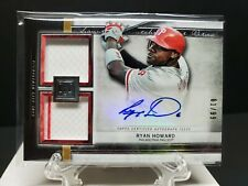 Ryan Howard 2020 Topps Museum SIGNATURE SWATCHES AUTO DUAL RELIC 61/99 PHILLIES