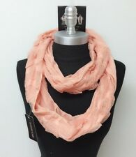 New Fashion Women Infinity Loop Scarf Cowl Circle Wrap Knit Crochet Soft Coral