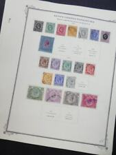 EDW1949SELL : KENYA U & T Nice Mint & Used collection on album pages. Cat $873.