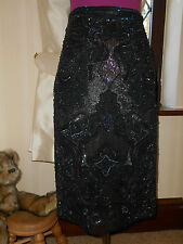 Stunning  All Saints Orna Sequin Skirt Size 10 Excellent Condition