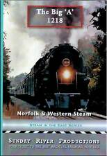 Norfolk & Western Steam The Big 'A' 1218 DVD NEW Sunday River articulated  N&W