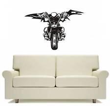 Motocross Motorbike Demon Wall Art Decor Free Postage
