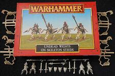 1997 morts-vivants wights sur squelette bed WARHAMMER CITADEL cavalerie comtes vampires