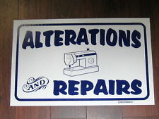 General Business Sign: Alterations and Repairs