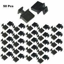 Lot 50 pc USB 2.0/3.0 Type A Dust Cover Port Protector Anti-Dust Dirt w/ Handle