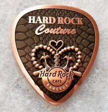 HARD ROCK CAFE BANGKOK 3D COUTURE GUITAR PICK SERIES PIN # 94266