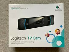 Logitech TV Cam HD Webcam 720 Widescreen V-U0022 Video Calls Stream Skype Zoom