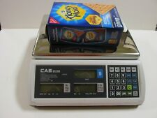 CAS S2000JR- Price Computing Scales & CAS DLP-50 Thermo Printer 24 Rolls Label