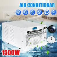 220V EU 1500W Klimaanlage Haus Büro Kühlung Heizung Klimageräte Timer Remote