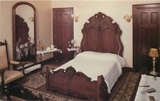Hildene Manchester Vermont Robert Todd Lincoln Bedroom VT Postcard