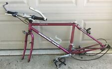 VINTAGE DIAMOND BACK ASCENT EX BICYCLE / Mountain Bike 17 INCH FRAME SET