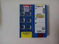 10pcs Korloy SEHT1204AFFN-X83 H01 CNC Carbide Insert New Free Shipping