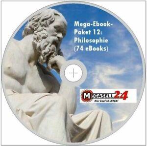 ☝ MEGA EBOOK PAKET 12 PHILOSOPHIE CD 74 eBooks Werke Logik Ethik Metaphysik PDF