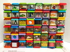 48 Fisher Price & Other Peek A Boo Tactile Sensory Blocks *Heavily Used*