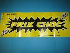 Etienne De Crecy / Prix Choc (Super Discount) LP CD Promo Poster 83 x 29 cm