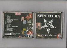 SEPULTURA - LIVE IN SAO PAULO 2-CD-Set