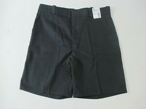 """NWTS MEN'S HORACE SMALL WORK UNIFORM SHORTS SZ 38R NAVY BLUE 10"""" INSEAM POLY COT"""