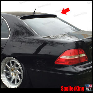 SPKdepot 380R (Fits: Lexus LS430 2001-06) Rear Roof Window Spoiler Wing