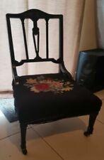 Victorian Antique Nursing Chairs
