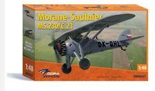 Dora Wings 48027 - 1/48 scale Morane-Saulnier Ms.230/C-23 model kit aircraft