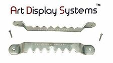 Ads 100 Sawtooth Picture Hangers 2-3/4 Inch W/nails by Art Display Systems