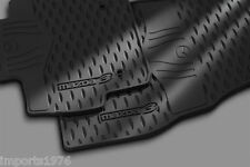 2010 - 2013 Mazda3 Genuine OEM All weather Floor Mats set of 4 : Fits 4 & 5 Door