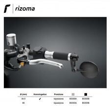 Rizoma SPY ARM 80mm Specchietto biposizione Specchio retrovisore universale nero