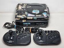 Untested Sega Mega Drive and Mega-Cd Console, Mega Sticks (J-3)
