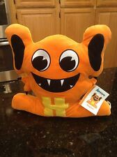 "Alphabeasts Orange Hoptom Letter ""H"" Rare plush stuffed animal NWT"