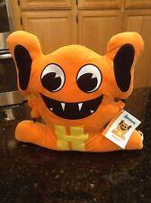 "Alphabeasts Orange Hoptom Letter ""H"" Rare plush stuffed animal NWT"