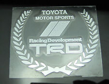 TOYOTA TRD Racing Development Nickel Alloy Car Decal Sticker