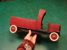 "vintage 16"" wooden toy truck from HARRIS TOY MFG. OUT OF malden mass"