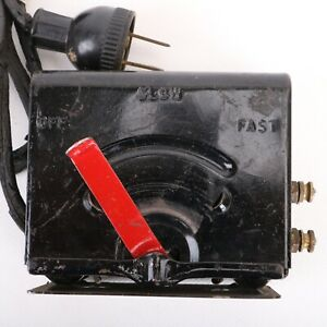 Louis Marx Model 729 Train Transformer SOLD AS PARTS ONLY