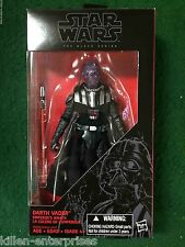 "Star Wars Black Series 6"" Darth Vader Emperor's Wrath Figure Exclusive Hasbro"