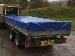 Ifor Williams TT105 Tipping Trailer Little Used