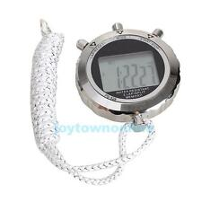 Lcd Digital Pro Chronograph Timer Counter Odometer Sports Stopwatch Stop Watch