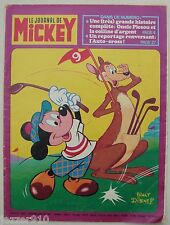 ¤ LE JOURNAL DE MICKEY n°1362 ¤ 06/08/1978