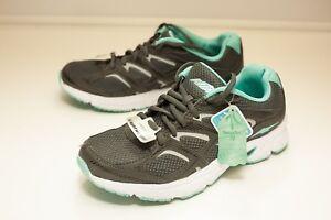 Avia Size 7 Gray Green Running Shoe Women's