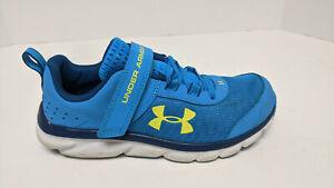 Under Armour Assert 8 Sneakers, Electric Blue, Little Kids 2 M