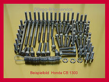 Honda CB 1300 / X 4 / X4 / SC38  V2A Schrauben Edelstahlschrauben Motorschrauben